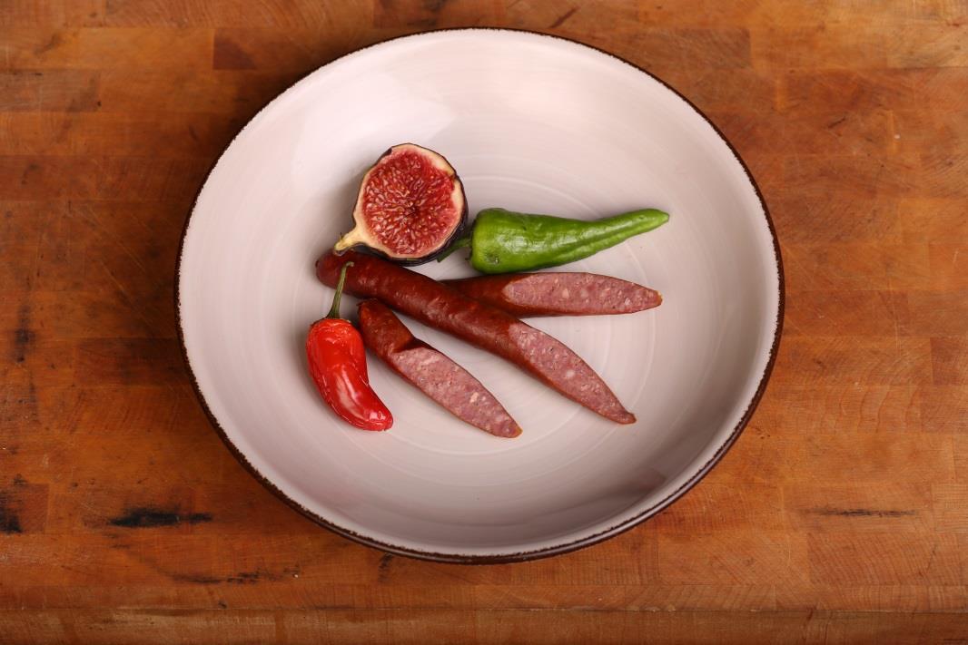Korv med fikon och chili